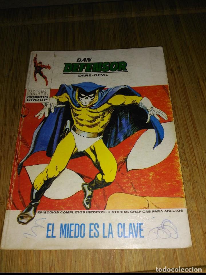 DAN DEFENSOR VOL.1 Nº 40 (Tebeos y Comics - Vértice - Dan Defensor)