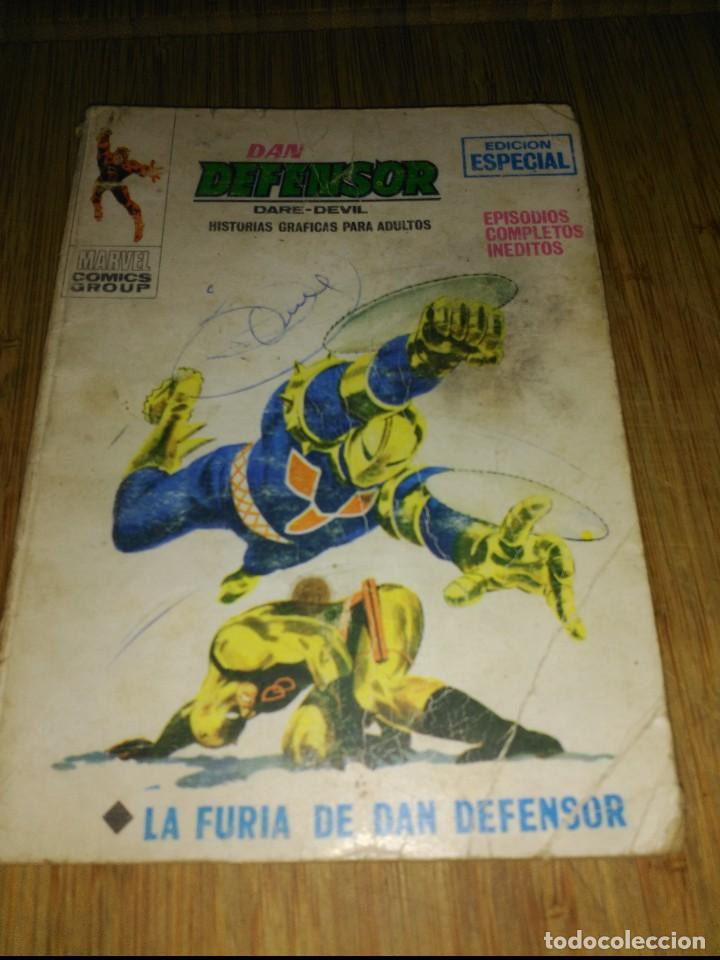 DAN DEFENSOR VOL.1 Nº 10 (Tebeos y Comics - Vértice - Dan Defensor)