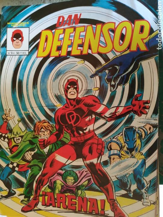 DAN DEFENSOR N 3 AÑO 1981 (Tebeos y Comics - Vértice - Dan Defensor)