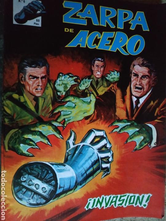 ZARPA DE ACERO N 6 (Tebeos y Comics - Vértice - Otros)