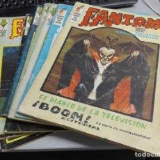 Cómics: FANTOM VOL. 1 / LOTE DE 9 NÚMEROS: 3, 4, 12, 14, 15, 20, 22, 28, 33 / VÉRTICE 1972. Lote 136393258
