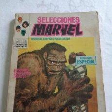Cómics: SELECCIONES MARVEL Nº 12 VOL. 1 ¡CUIDADO CON BRUTTU! VERTICE 1969 V.1 ( TACO COMPLETO ). Lote 136529218