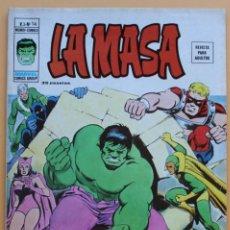 Cómics: MUNDI COMICS -LA MASA - V.3 Nº 14- 1974-NM. Lote 136580378