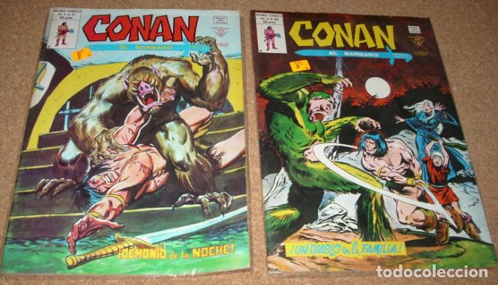 CONAN VOL.2 Nº 37 Y 40 . MUY BUEN ESTADO (Tebeos y Comics - Vértice - Conan)