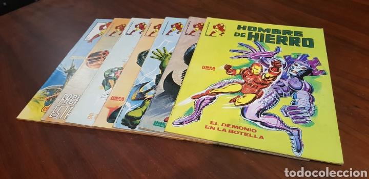 MUY BUEN ESTADO SUELTOS PREGUNTAR HOMBRE DE HIERRO COMPLETA SURCO LINEA 83 (Tebeos y Comics - Vértice - Surco / Mundi-Comic)