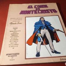 Cómics: EL CONDE DE MONTECRISTO MUNDI COMICS CLASICOS 1 EDICIONES VERTICE. Lote 136673742