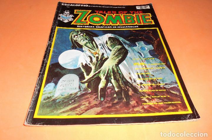 ESCALOFRIO. Nº 14. TALES OF THE ZOMBIE 4. EDICIONES VÉRTICE. CON POSTER. (Tebeos y Comics - Vértice - Terror)