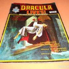 Cómics: ESCALOFRIO - Nº 24 - DRACULA LIVES Nº 6 - VERTICE. GRAPA.. Lote 136811618