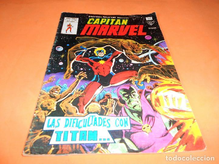 HEROES MARVEL Nº 59 CAPITAN MARVEL VERTICE 1979. LAS DIFICULTADES CON TITAN... (Tebeos y Comics - Vértice - Super Héroes)