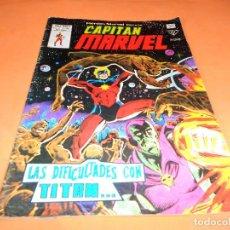 Cómics: HEROES MARVEL Nº 59 CAPITAN MARVEL VERTICE 1979. LAS DIFICULTADES CON TITAN.... Lote 136813386