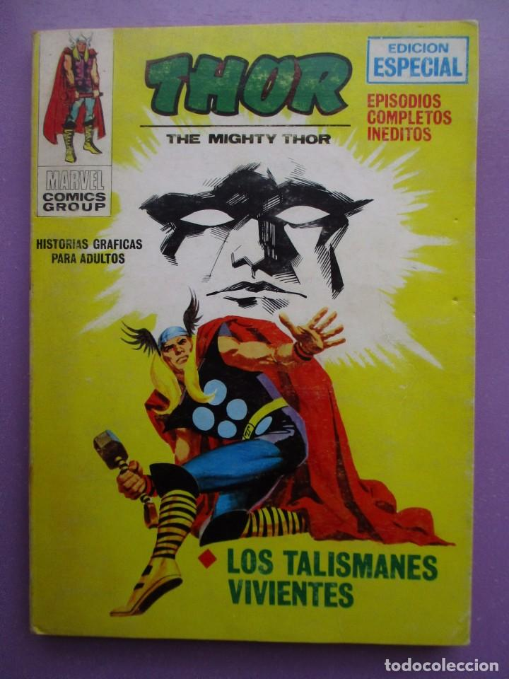 THOR Nº 19 VERTICE VOLUMEN 1 ¡¡¡¡¡¡ BUEN ESTADO!!!!!! (Tebeos y Comics - Vértice - V.1)