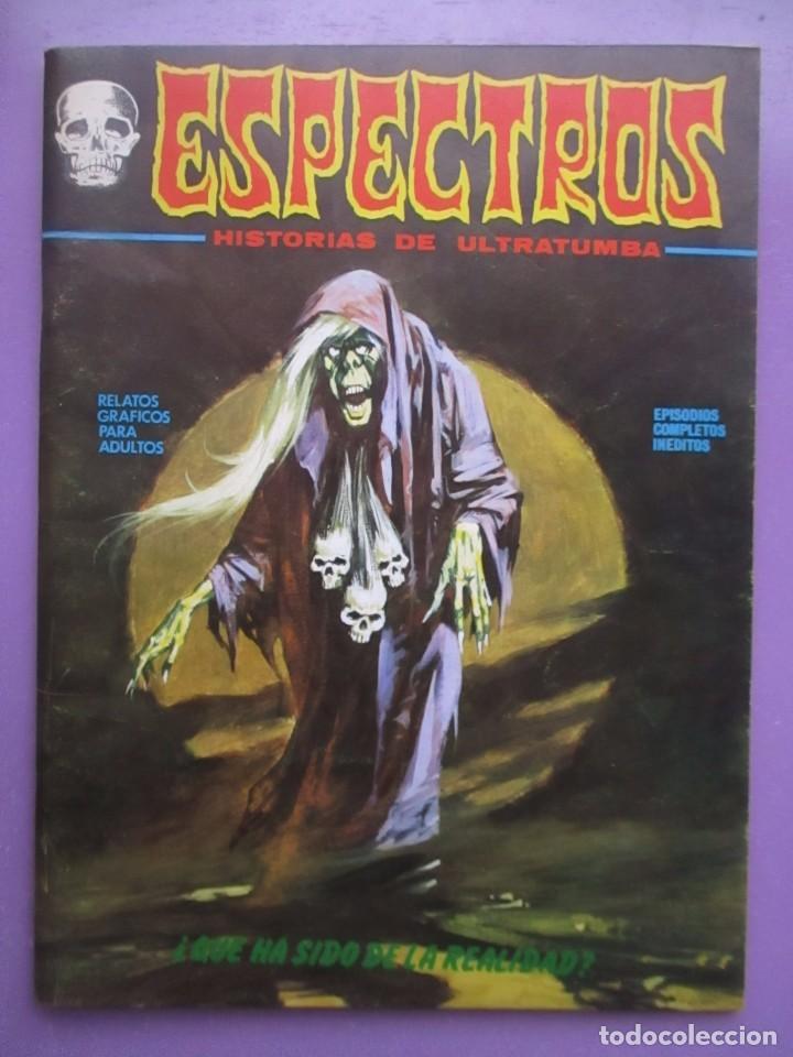 ESPECTROS Nº 18 VERTICE VOLUMEN 1 ¡¡¡¡¡¡EXCELENTE ESTADO Y DIFICIL!!!!!! (Tebeos y Comics - Vértice - V.1)