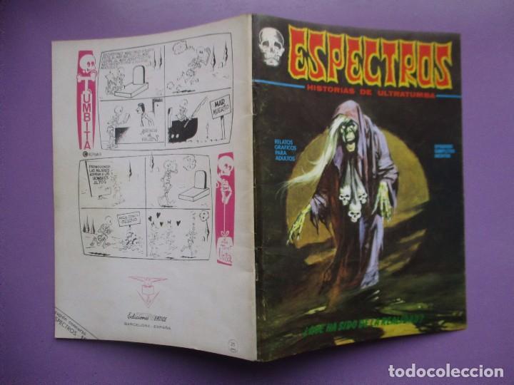Cómics: ESPECTROS Nº 18 VERTICE VOLUMEN 1 ¡¡¡¡¡¡EXCELENTE ESTADO Y DIFICIL!!!!!! - Foto 3 - 136897326