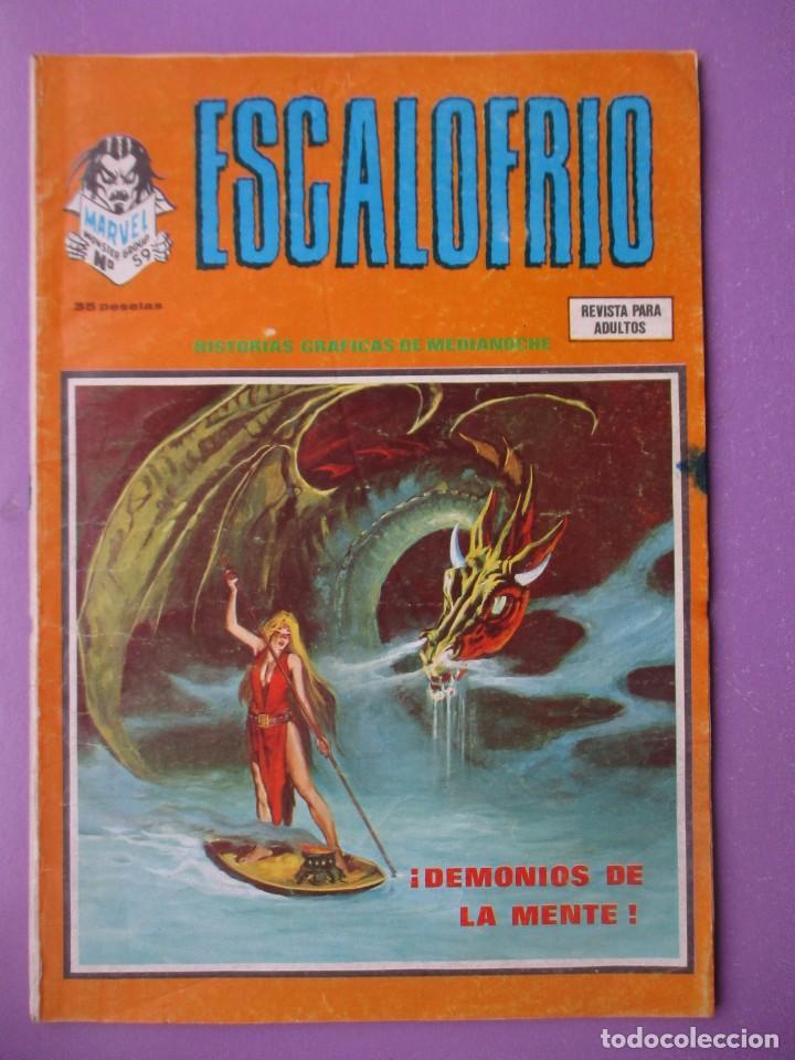 ESCALOFRIO 59 VERTICE VOLUMEN 1 ¡¡¡¡ BUEN ESTADO!!!!!! (Tebeos y Comics - Vértice - V.1)