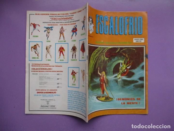 Cómics: ESCALOFRIO 59 VERTICE VOLUMEN 1 ¡¡¡¡ BUEN ESTADO!!!!!! - Foto 3 - 136928218
