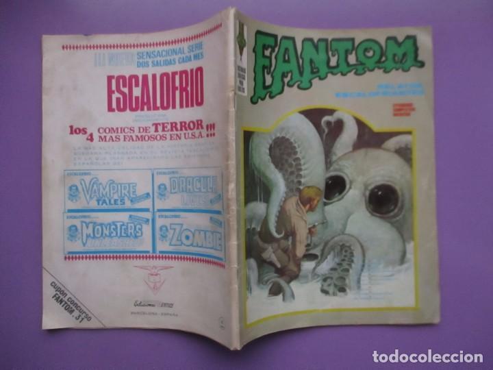 Cómics: FANTOM Nº 31 VERTICE VOLUMEN 1 ¡¡¡¡ BUEN ESTADO!!!!!! - Foto 3 - 136931950