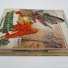 Cómics: EL MOTORISTA FANTASMA, LOTE DE 3 NºS 4 7 Y 8. EDITORIAL VERTICE. VOLUMEN 1. Lote 137139834