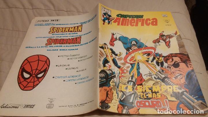 CAPITAN AMERICA. Nº 37. - EI CAPITAN AMERICA ES SIEMPRE EL MAS OSCURO - VOL 3. VERTICE (Tebeos y Comics - Vértice - Capitán América)