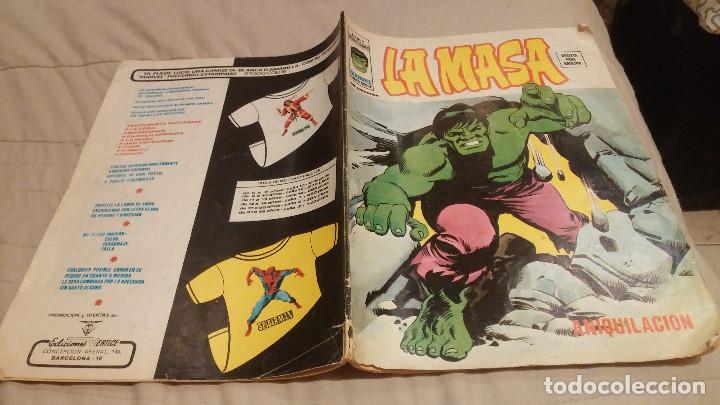 LA MASA VOL.3 Nº 8 - ANIQUILACION - VERTICE 1976. (Tebeos y Comics - Vértice - La Masa)