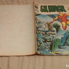 Cómics: LA MASA VOL.3 Nº15 ,MORIRAS HOMBRE DE HIERRO - VERTICE 1976 - FALTA CONTRAPORTADA. Lote 137339862