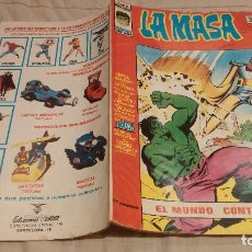 Cómics: LA MASA VOL3 Nº 19 - EL MUNDO CONTRA LA MASA - VERTICE 1976. Lote 137342406