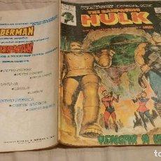 Cómics: THE RAMPAGING HULK. Nº 9. VENGAR A LA TIERRA. VERTICE . Lote 137343686