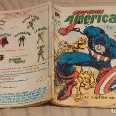 Comics: CAPITÁN AMÉRICA - VOL 3, Nº 4. EL CAPITÁN SE PONE FIERO - VÉRTICE, AÑO 1973. Lote 137344754