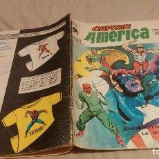 Comics: CAPITÁN AMÉRICA - VOL.3 Nº 9 - ¡MÁS PERVERSO QUE LA MUERTE! - VÉRTICE 1976. Lote 137346534