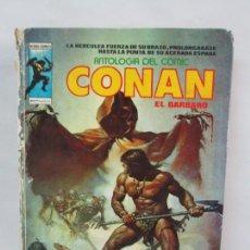 Cómics: CONAN EL BARBARO. ANTOLOGIA DEL COMIC. MUNDI COMICS. EDICIONES VERTICE. EDICION ESPECIAL. 1975. Lote 137427494