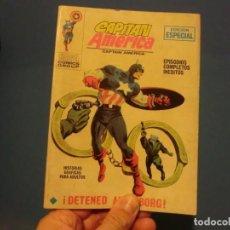 Cómics: CAPITAN AMERICA,( DETENED AL CYBORG) VOLUMEN 1,NUMERO 10,BUEN ESTADO. Lote 137465386