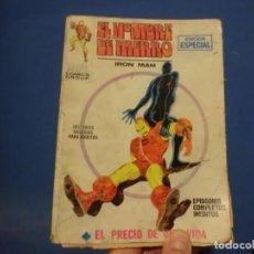 Cómics: EL HOMBRE DE HIERRO,( EL PRECIO DE UNA VIDA ),VOLUMEN 1, NUMERO 8. Lote 137465630