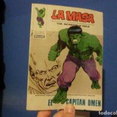Cómics: LA MASA,( EL CAPITAN OMEN),VOLUMEN 1, NUMERO 31,A FALTA DE ULTIMA HOJA.. Lote 137465854