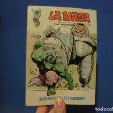 Cómics: LA MASA,( DESTRUCCION DESTRUCCION)NUMERO 32,VOLUMEN 1,BUEN ESTADO. Lote 137466490