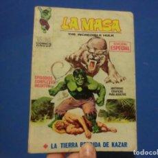 Cómics: LA MASA,( LA TIERRA PERDIDA DE KAZAR) VOLUMEN 1,BUEN ESTADO,NUMERO 4. Lote 137466602
