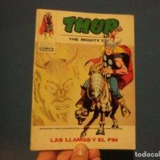 Cómics: THOR,( LAS LLAMAS Y EL FIN ),VOLUMEN 1,NUMERO 34, BUEN ESTADO. Lote 137466718