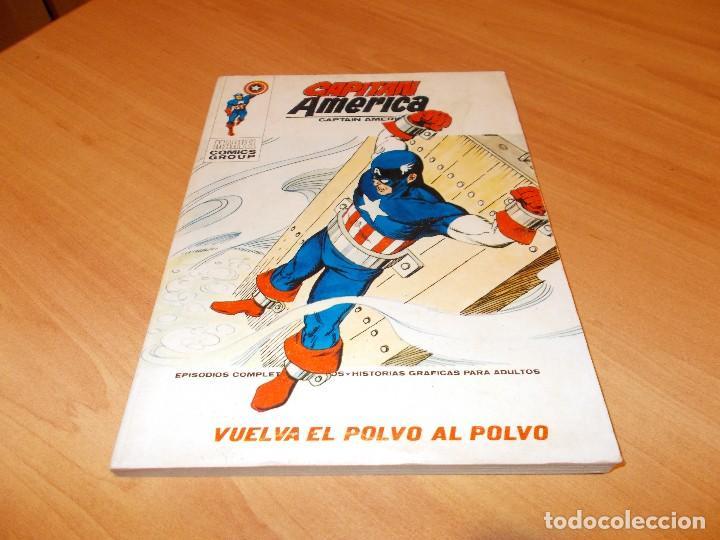 CAPITAN AMERICA V.1 Nº 34 CASI EXCELENTE (Tebeos y Comics - Vértice - Capitán América)
