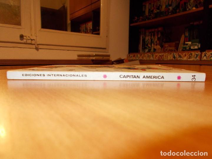 Cómics: CAPITAN AMERICA V.1 Nº 34 CASI EXCELENTE - Foto 2 - 137657694