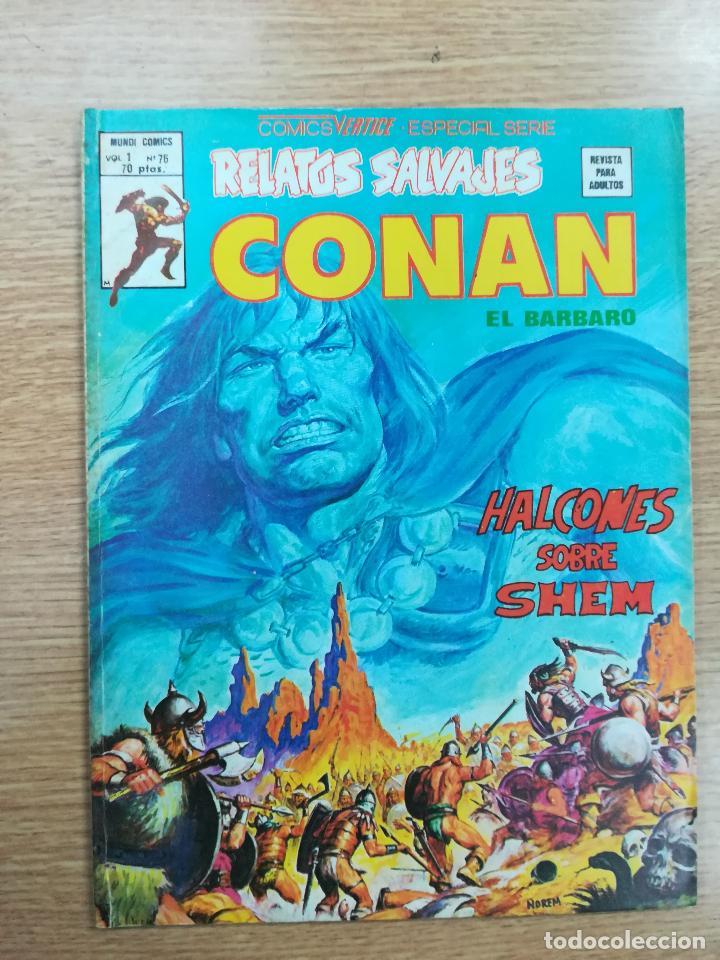 RELATOS SALVAJES CONAN EL BARBARO VOL 1 #76 (Tebeos y Comics - Vértice - Relatos Salvajes)