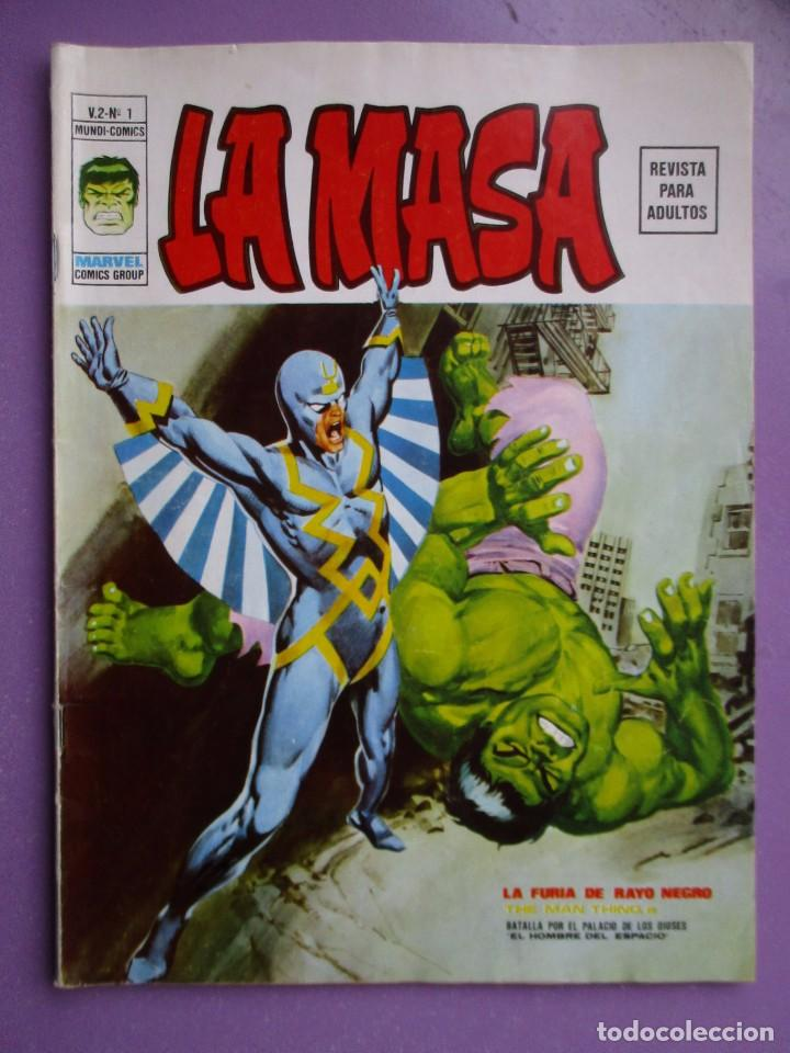 LA MASA Nº 1 VERTICE VOLUMEN 2 ¡¡¡ BASTANTE BUEN ESTADO!!!!!! DIFICIL (Tebeos y Comics - Vértice - V.1)