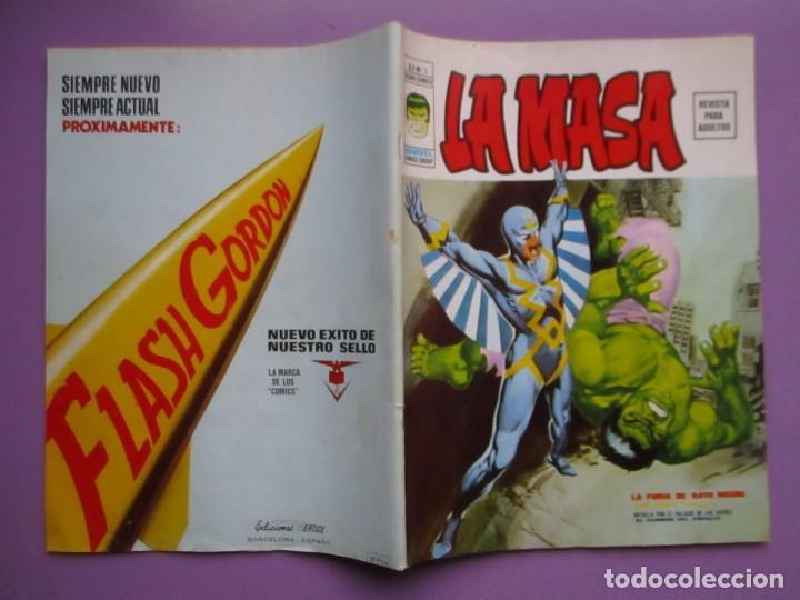 Cómics: LA MASA Nº 1 VERTICE VOLUMEN 2 ¡¡¡ BASTANTE BUEN ESTADO!!!!!! DIFICIL - Foto 3 - 138625002