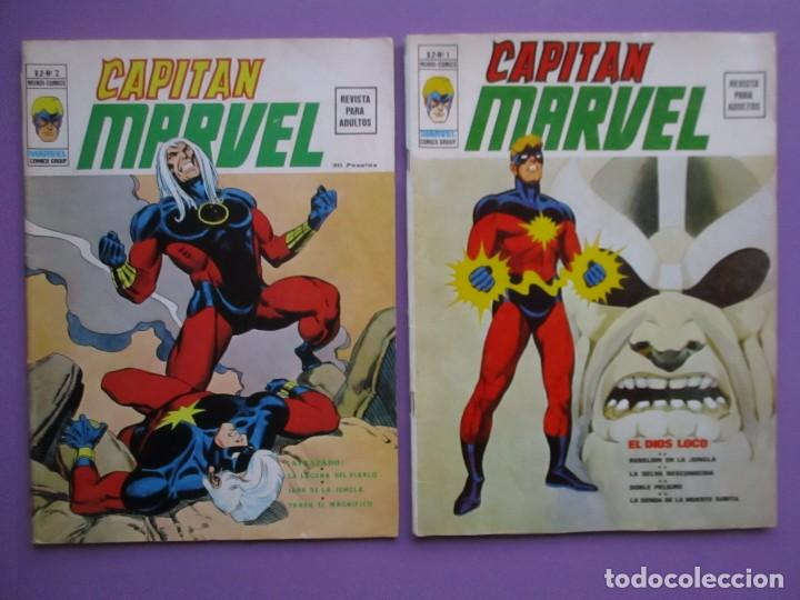 CAPITAN MARVEL COMPLETA VERTICE VOLUMEN 2 ¡¡¡ MUY BUEN ESTADO!!!! ENVÍO GRATIS (Tebeos y Comics - Vértice - V.1)