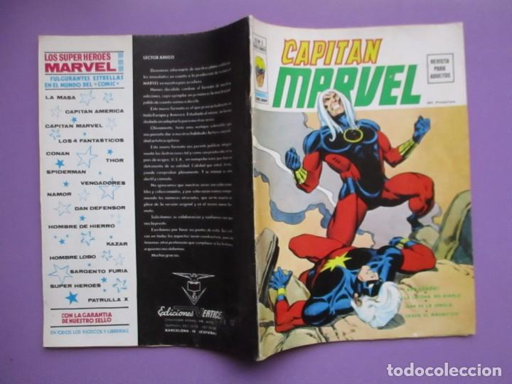 Cómics: CAPITAN MARVEL COMPLETA VERTICE VOLUMEN 2 ¡¡¡ MUY BUEN ESTADO!!!! ENVÍO GRATIS - Foto 9 - 138625938
