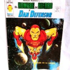 Cómics: HOMBRE DE HIERRO Y DAN DEFENSOR Nº 17 V2 MISION EN LA LOCURA HEROES MARVEL VERTICE AÑO 74. Lote 138774098