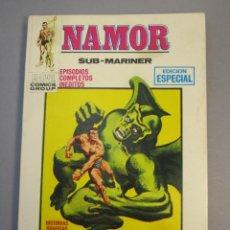 Cómics: NAMOR (1970, VERTICE) 6 · II-1971 · EL DIA DEL DRAGON. Lote 138784070