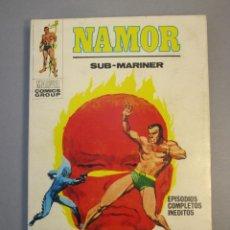 Cómics: NAMOR (1970, VERTICE) 22 · 1972 · EL FUEGO DE LOS CIELOS. Lote 138786778