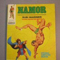 Cómics: NAMOR (1970, VERTICE) 20 · 1972 · CATASTROFE MENTAL. Lote 138787786