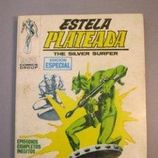 Cómics: ESTELA PLATEADA (1972, VERTICE) 2 · 1972 · EL PLATILLO VOLANTE. Lote 138807274