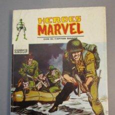 Cómics: HEROES MARVEL (1972, VERTICE) 12 · 1972 · MUERTE DE UN COMANDO. Lote 138808314