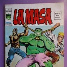 Cómics: LA MASA Nº 5 VERTICE VOLUMEN 2 ¡¡¡ BASTANTE BUEN ESTADO!!!!!!. Lote 138811434
