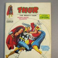 Cómics: THOR (1970, VERTICE) 10 · 1971 · LUCHANDO HASTA EL FIN. Lote 138818506